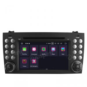 ANDROID 9.0 GPS DVD WI-FI Bluetooth Mirror-Link autoradio 2 DIN navigatore compatibile con Mercedes Benz Classe SLK R171, Mercedes W171
