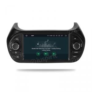 ANDROID 9.0 autoradio navigatore per Fiat Fiorino, Fiat Qubo, Citroen Nemo, Peugeot Bipper 2008-2015 GPS DVD WI-FI Bluetooth MirrorLink
