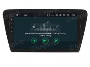 ANDROID 9.0 autoradio navigatore per Skoda Octavia 2013-2018 GPS WI-FI Bluetooth MirrorLink
