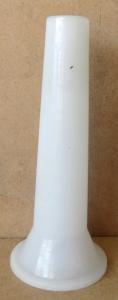 Imbuto insaccatore in nylon per tritacarne N° 5/8/12/22/32