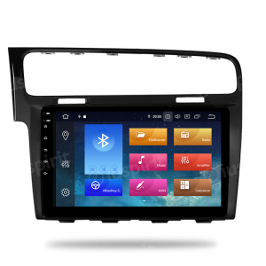 ANDROID 9.0 autoradio navigatore per Volkswagen Golf 7 2013-2018 GPS WI-FI Bluetooth MirrorLink