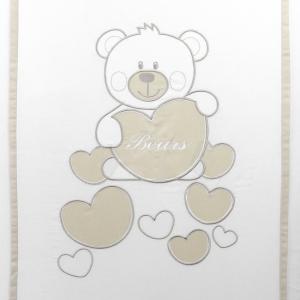 NUOVA COLLEZIONE 2019/2020 Completo piumone lettino  Baby Bear beige related image