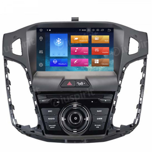 ANDROID 9.0 GPS DVD WI-FI Bluetooth Mirror-Link autoradio navigatore compatibile con Ford Focus 2011, 2012, 2013, 2014, 2015