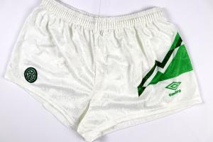 1991-92 Celtic Pantaloncini Home  *Nuovi