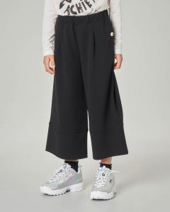 Pantalone nero cropped 8-14 anni