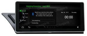ANDROID 10.25 pollici navigatore per Audi A4/A5/S5/RS4/RS5/8K/B8/8T/4L 2008-2016 GPS WI-FI Bluetooth MirrorLink 2GB RAM 32GB ROM 4G LTE