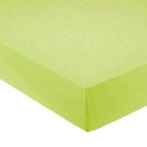 Lenzuola con angoli per letto francese 140x200 cm - verde lime