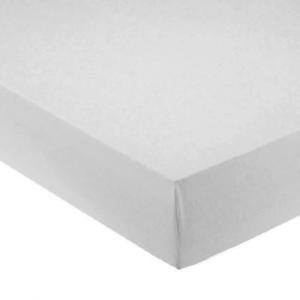 Lenzuola con angoli per letto francese 140x200 cm - grigio perla