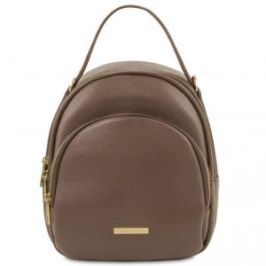 Tuscany Leather TL141743 TL Bag - Zaino donna in pelle Talpa scuro
