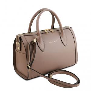 Tuscany Leather TL141829 Elena - Bauletto in pelle Talpa