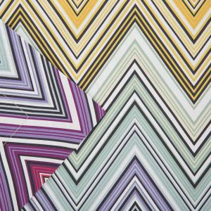 Pair of pillowcases 50x80 cm Missoni Home TREVOR 159 multicolored warm tones