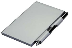 Blocchetto tascabile e penna