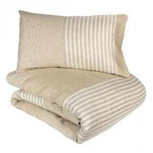 Copripiumino Fazzini.Double Cotton Duvet Cover Complete Fazzini New Tradition