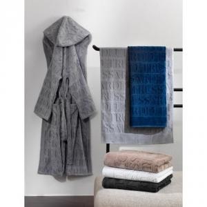Coppia di spugne asciugamano e ospite Trussardi OVERLOGO - vari colori