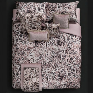 Roberto Cavalli double sheet set in PAPYRUS pink satin