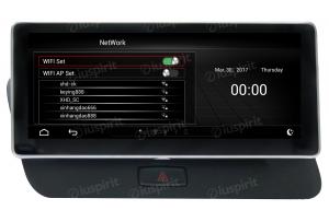 ANDROID monitor 10.25 navigatore per Audi Q5 2009-2017 MMI 3G GPS WI-FI Bluetooth MirrorLink 2GB RAM 32GB ROM 4G LTE