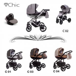Green Family - Baby Active - sistema modulare/trio elegantissimo - Chic 03
