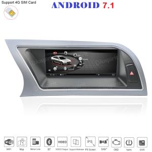 ANDROID GPS WI-FI Bluetooth MirrorLink 4GB RAM 32GB ROM 8.8 pollici navigatore compatibile con Audi A4/RS4/8K/B8/8T/4L 2013-2016 MMI 3G