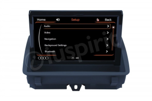 USB GPS Bluetooth MirrorLink navigatore Audi Q3 2011-2016