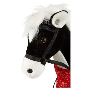Cavallo da equitazione XL con suono nero