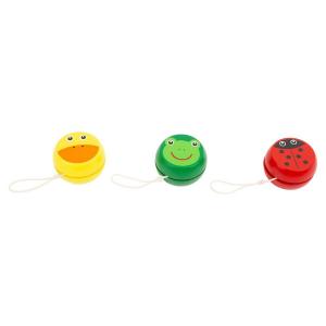 Yo-yo in legno Animali Display Espositore