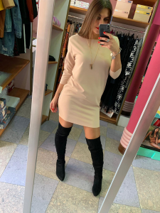 Mini abito con collana Vicolo 3 colori