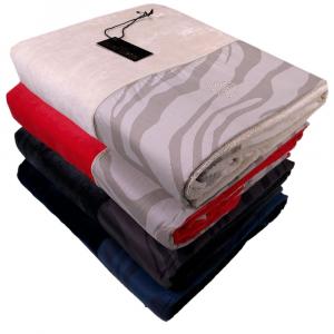 Roberto Cavalli bath towel 100x180 cm MACRO ZEBRAGE in sponge