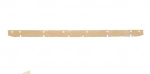 SCL MIDI 75 Gomma Tergipavimento ANTERIORE per lavapavimenti LAVOR
