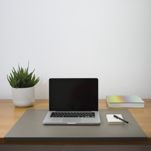 Desk Pad Urania Dove Grey