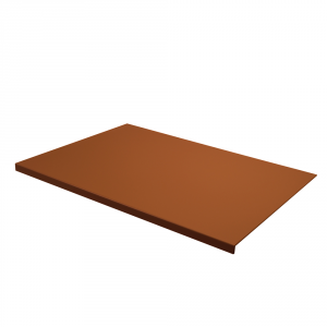 Desk Pad Talia Orange Brown