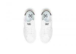 Sneakers donna 2*stars low bianco-nero