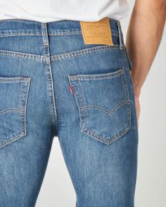 Jeans 512 slim lavaggio stone wash