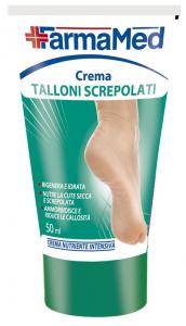 FARMAMED Pieds Crème Talons Fissuré 50 ml 05202 Cure Des Pieds Pédicure