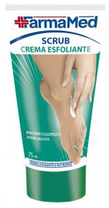 FARMAMED Pieds Crème Gommage 75 ml 05203 Cure Des Pieds Pédicure