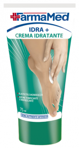 FARMAMED Pieds Hydratant + Crème Hydratant 75 ml 05204 Cure Des Pieds Pédicure