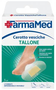 FARMAMED Pieds Plâtre Blisters Retour Talon 5 Pièces 05231 Cure Des Pieds Pédicure