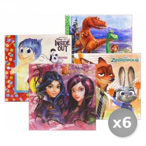 Set 6 GABBIANO Serviettes Disney 27672 33x33 Assortis Per Feste Et Opportunit?s