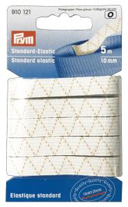 Elastico Lavabile 9 ml X 5 Mt Bianco 500109 Per cucito
