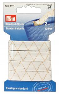 Elastico Lavabile 12 ml X 2 Mt Bianco 500114 Per cucito