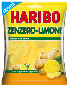 HARIBO Candy in envelope Zenzero-limone Article 35047 175 gr