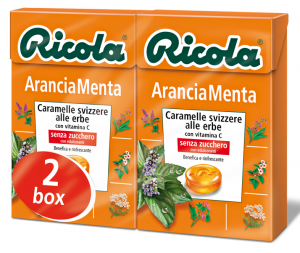 RICOLA Candy in a box Orange Mint Dr4205 50 gr