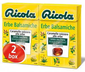 RICOLA Candy dans une boîte Herbes Balsamiche Dr4201 50 gr