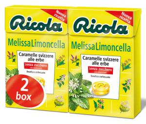 RICOLA Caramelle in astuccio Melissa Limoncella Dr4202 50 gr