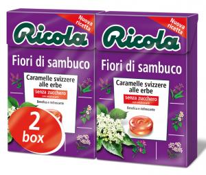 RICOLA Candy dans une boîte Fiori di sambuco Dr4206 50 gr
