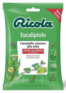 RICOLA Candy dans une enveloppe Eucalyptus Dr2004 70 gr