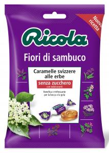 RICOLA Caramelle in busta Fiori di sambuco Dr2003 70 gr