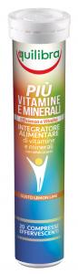 EQUILIBRA 20 Capsule Piu' Vitamine Minerali Effervescente Integratore Alimentare