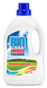 BIO-CASA Ammoniaca Profumata Per la Pulizia del bucato 1000 ml