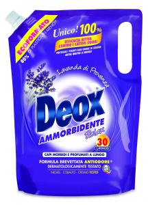 DEOX Softener Sack 30 Measuring devices Lavender Per bucato 1.5 Lt