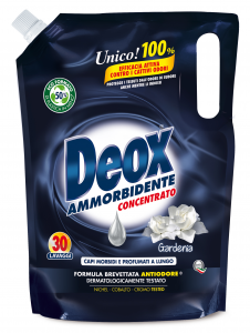 DEOX Softener Bag 30 Measurers Gardenia 750 ml Product For the Laundry
